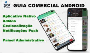Aplicativo Guia Comercial Android Online com Administração (mensal)