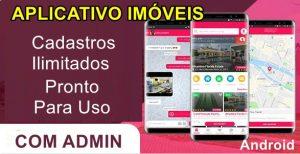 Aplicativo Imobiliária Virtual Android administração (Mensal)