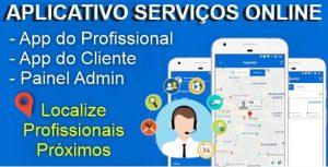 Aplicativo Serviços Online Sob Demanda Android Com Administração (Mensal)