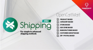 Módulo Opencart Entrega Personalizada X-shipping pró