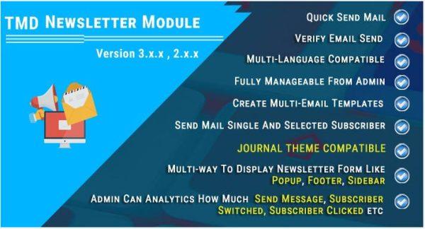 Módulo Opencart Newsletter com Popup