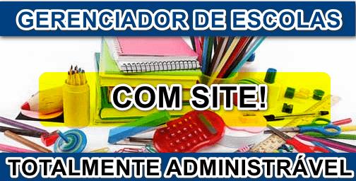 Script Gerenciador Escola com Site Full 2020 com admin