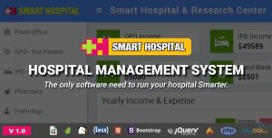 Sistema de Gestão Hospitalar - Gerenciador de hospital e pacientes com admin