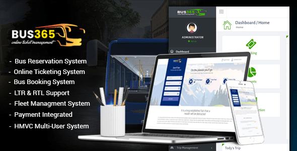 Script reserva online de bilhete de ônibus completo com admin