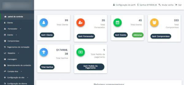 Script Reserva de compromisso / serviço multi-vendedor completo com admin PORTUGUÊS