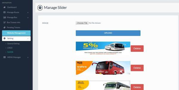 Ebus Script reserva online de bilhete de ônibus completo com admin