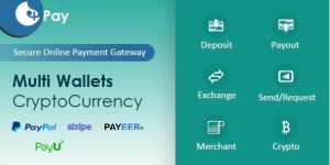 Script Sistema de pagamentos clone do paypal pagseguro payu Site completo com admin