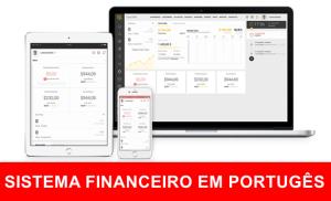 Sistema Financeiro Faturamento CRM Clientes ERP completo em português
