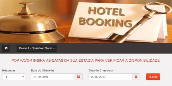 Script Motor De Reserva De Quartos Para Hotel E Pousada v3.4 em portugês