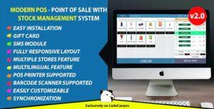 Sistema PDV e Gerenciador de Estoque com administração modern