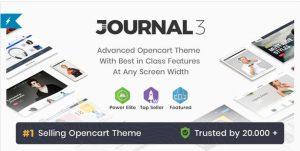 Tema Opencart Journal para Opencart 2x e 3x Atualizado